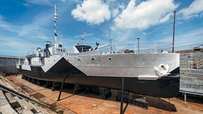 HMS M.33, the Royal Navy's last surviving ship from the Gallipoli campaign, has undergone a £1.79 million refurbishment