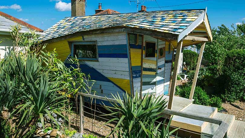 Shed of the year 2015 see the wacky and wonderful sheds for Build your own beach house