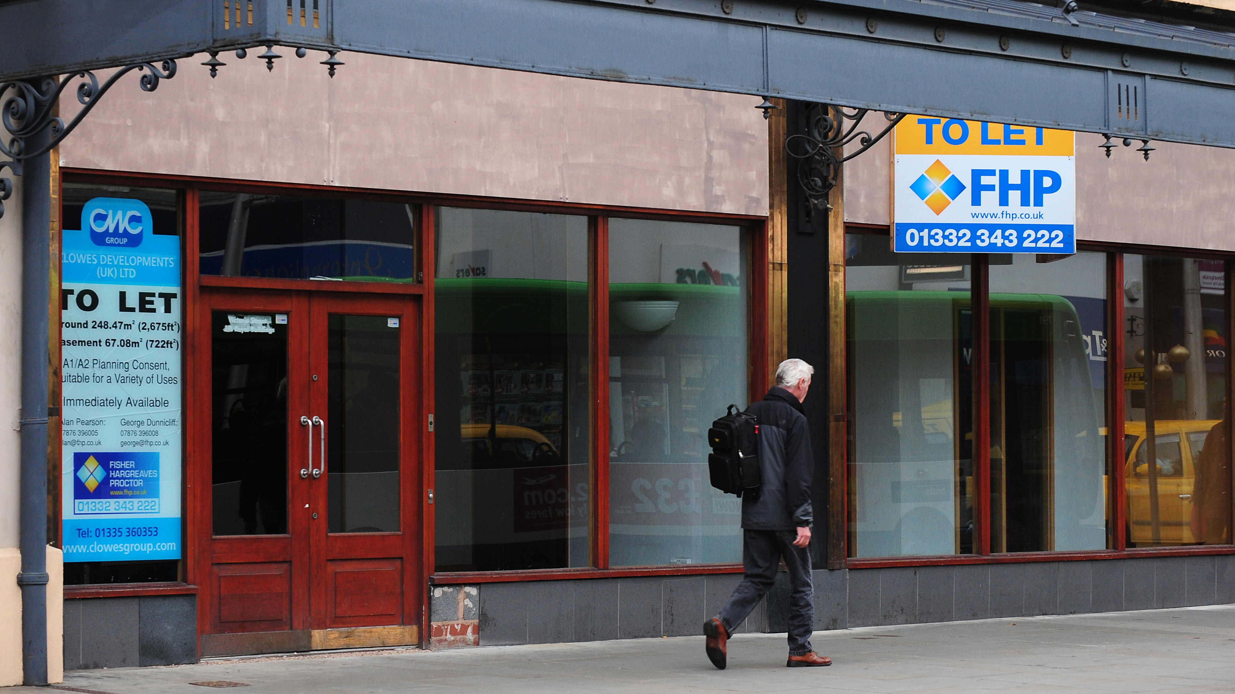 Shop vacancy rate in Britain's town centres hits highest level in