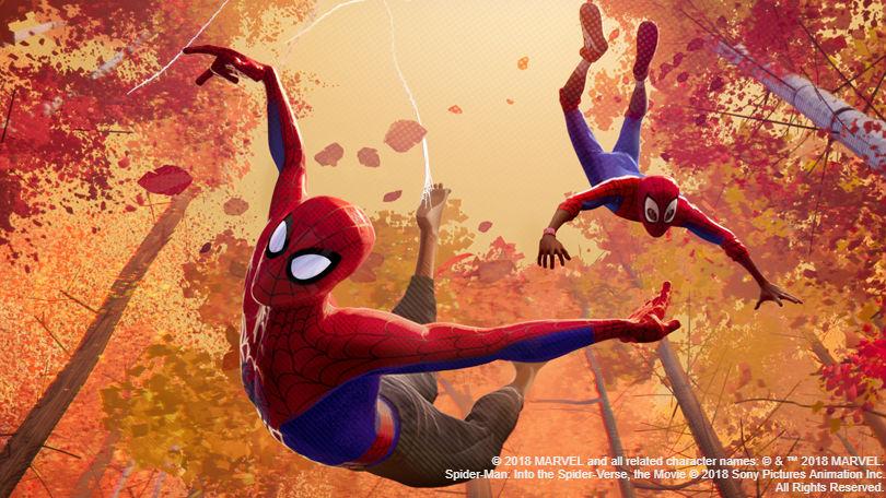 Spider-Man animation