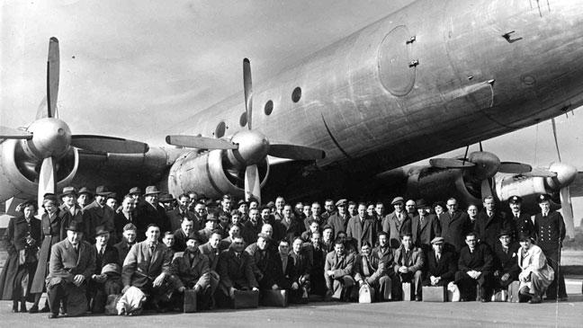 March 12, 1950: Llandow air disaster - 80 killed as rugby
