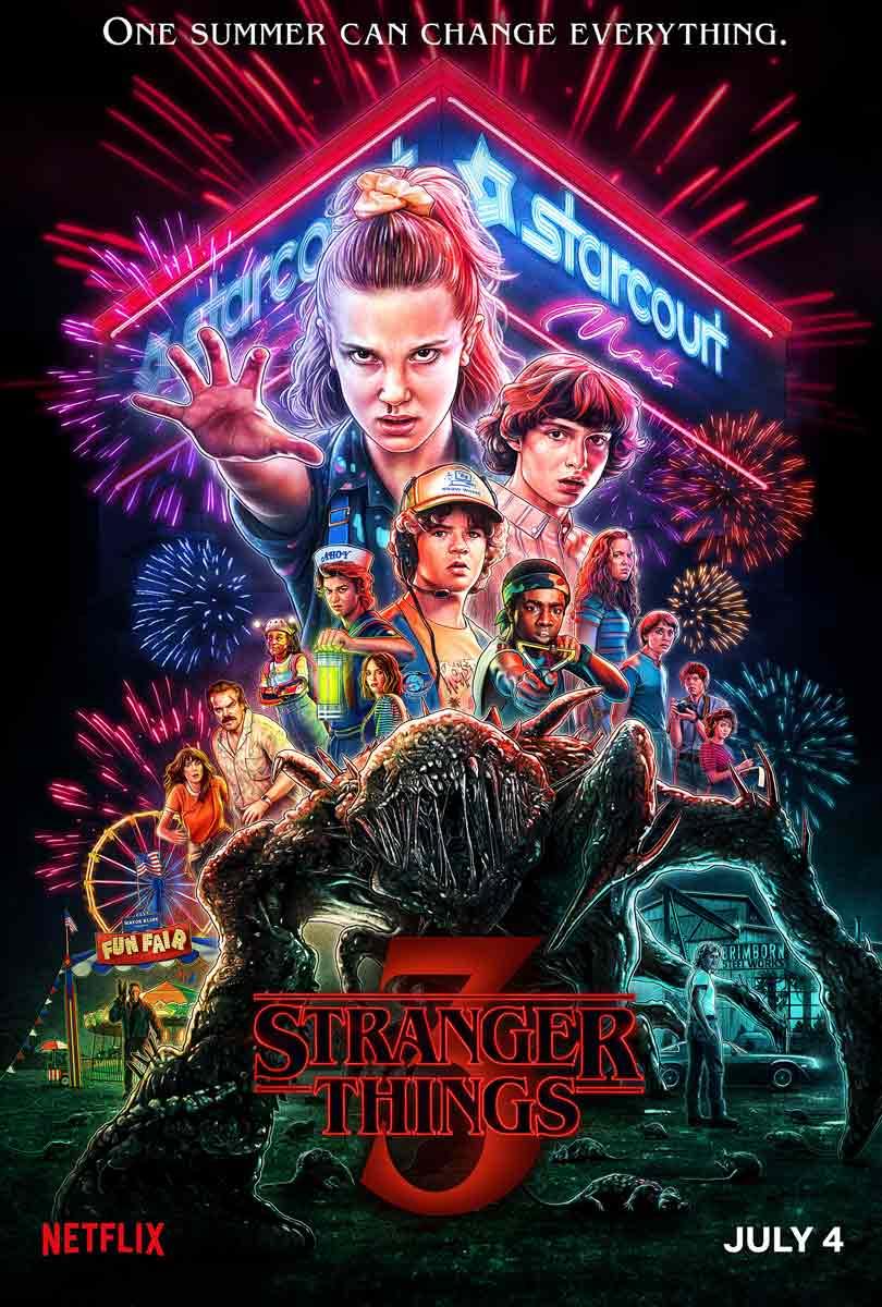 Stranger Things season 3 - Key art