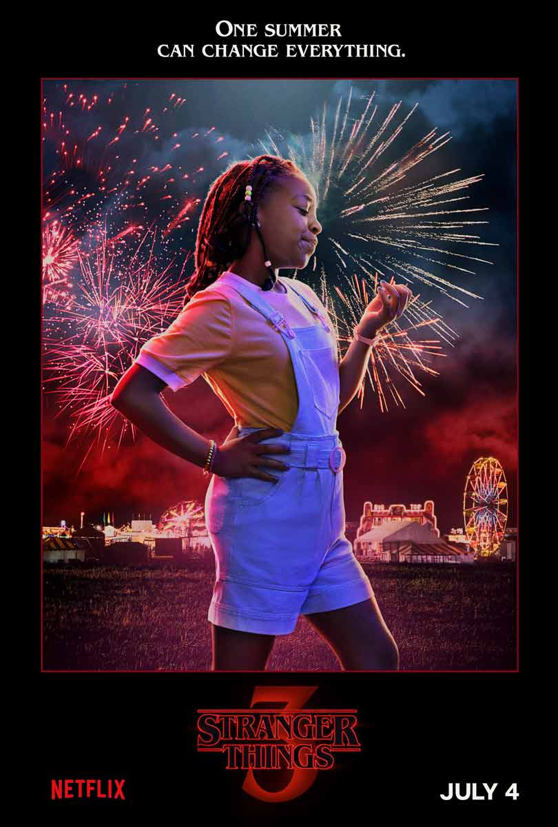 Priah Ferguson as Erica Sinclair in Stranger Things season 3
