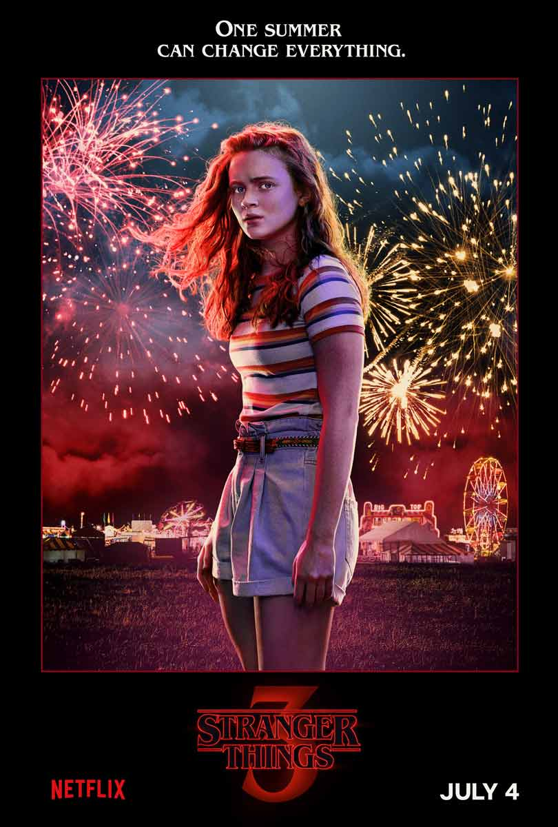 Sadie Sink as Max Mayfield in Stranger Things season 3