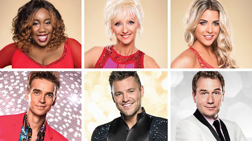 Strictly Come Dancing 2019 Christmas cast