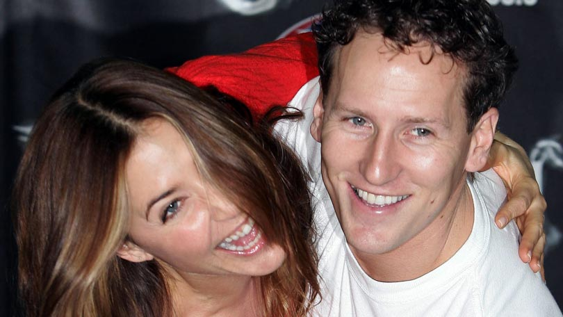 Lisa Snowdon and Brendan Cole on Strictly Come Dancing