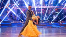 Strictly dancers Aston Merrygold and Janette Manrara. Photo credit: BBC