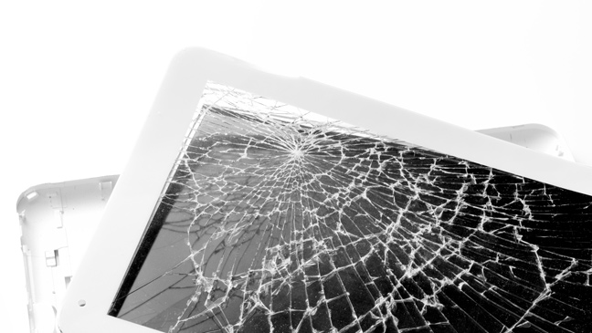 What to do if you crack your tablet screen | BT