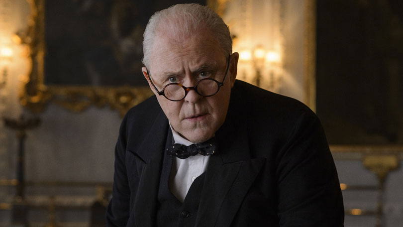 John Lithgow in The Crown season 1