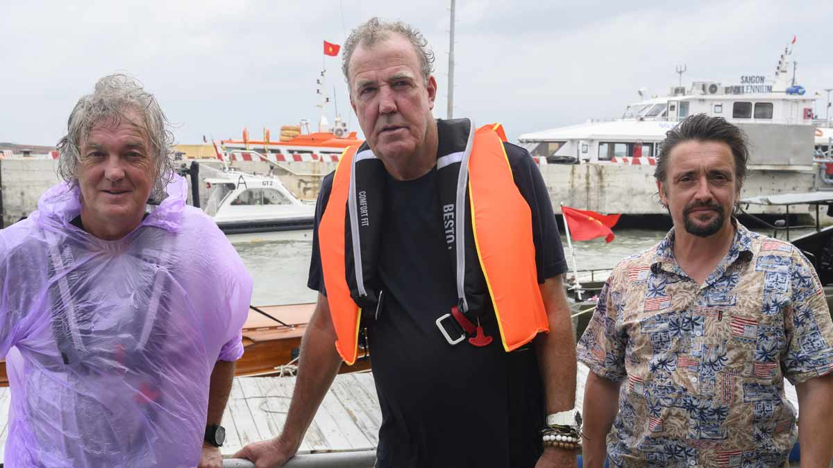 Clarkson, Hammond and May on The Grand Tour presents Seamen