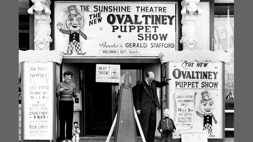 The Ovaltiney Puppet Show.
