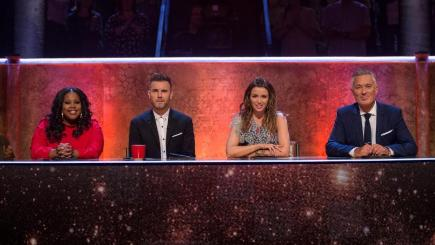The judging panel on Let It Shine (BBC/PA)