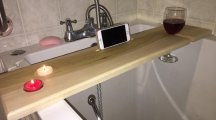 This girl's boyfriend made her an ingenious creation that will totally revolutionise bathtime