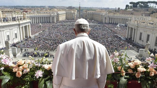 Image result for easter st peters square