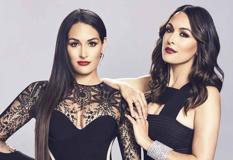 Total Bellas on E! Brie and Nikki Bella