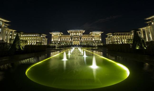 القصر الابيض لأردوغان تحفة معمارية turkish-palace-exter