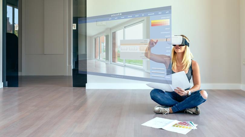 VR house plan