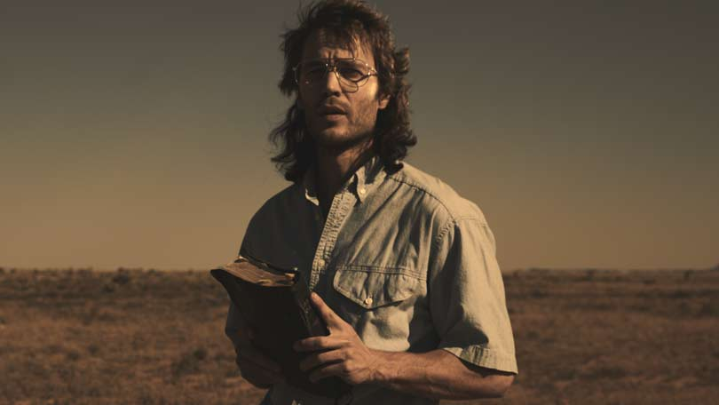 Taylor Kitsch as David Koresh in Waco on Alibi