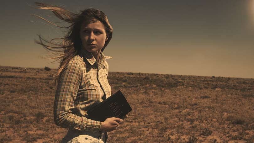 Melissa Benoist as Rachel Koresh in Alibi's Waco