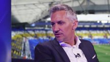 Gary Lineker at Champions League broadcas