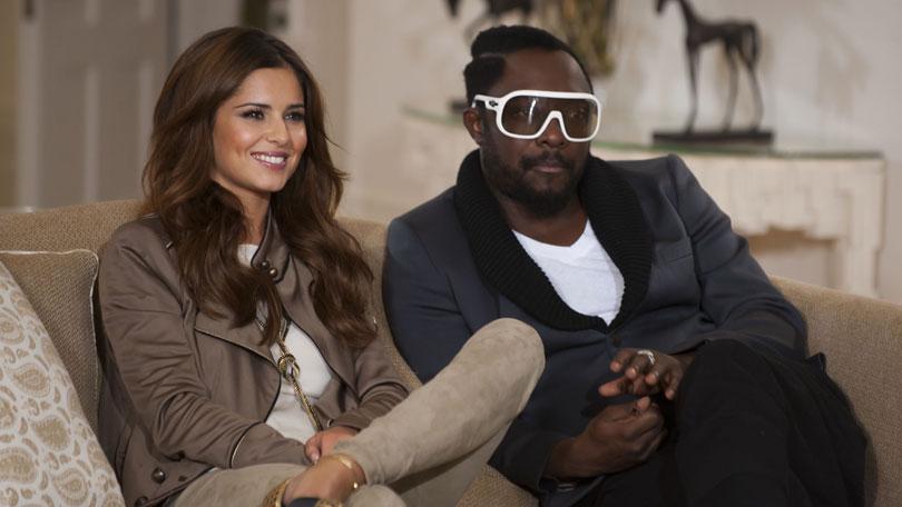 Cheryl Will.i.am X Factor