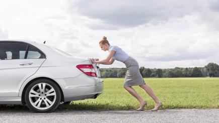 Woman Loses Licence For Pushing Car While Drunk Bt