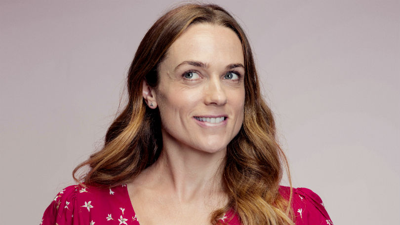 Kerry Condon as Laura in Women on the Verge